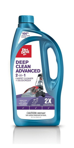 Deep Clean Advanced 2-in-1 Carpet Cleaner + Deodorizer 32 oz.  - AD30050