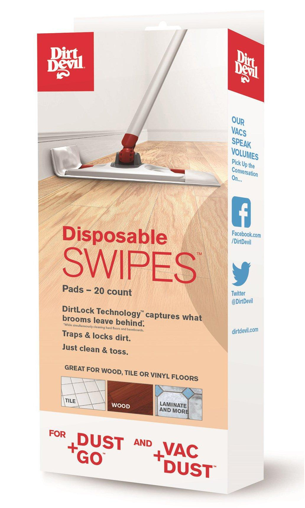 Disposable SWIPES Pads for Vac+Dust & Dust+Go (20 count)2
