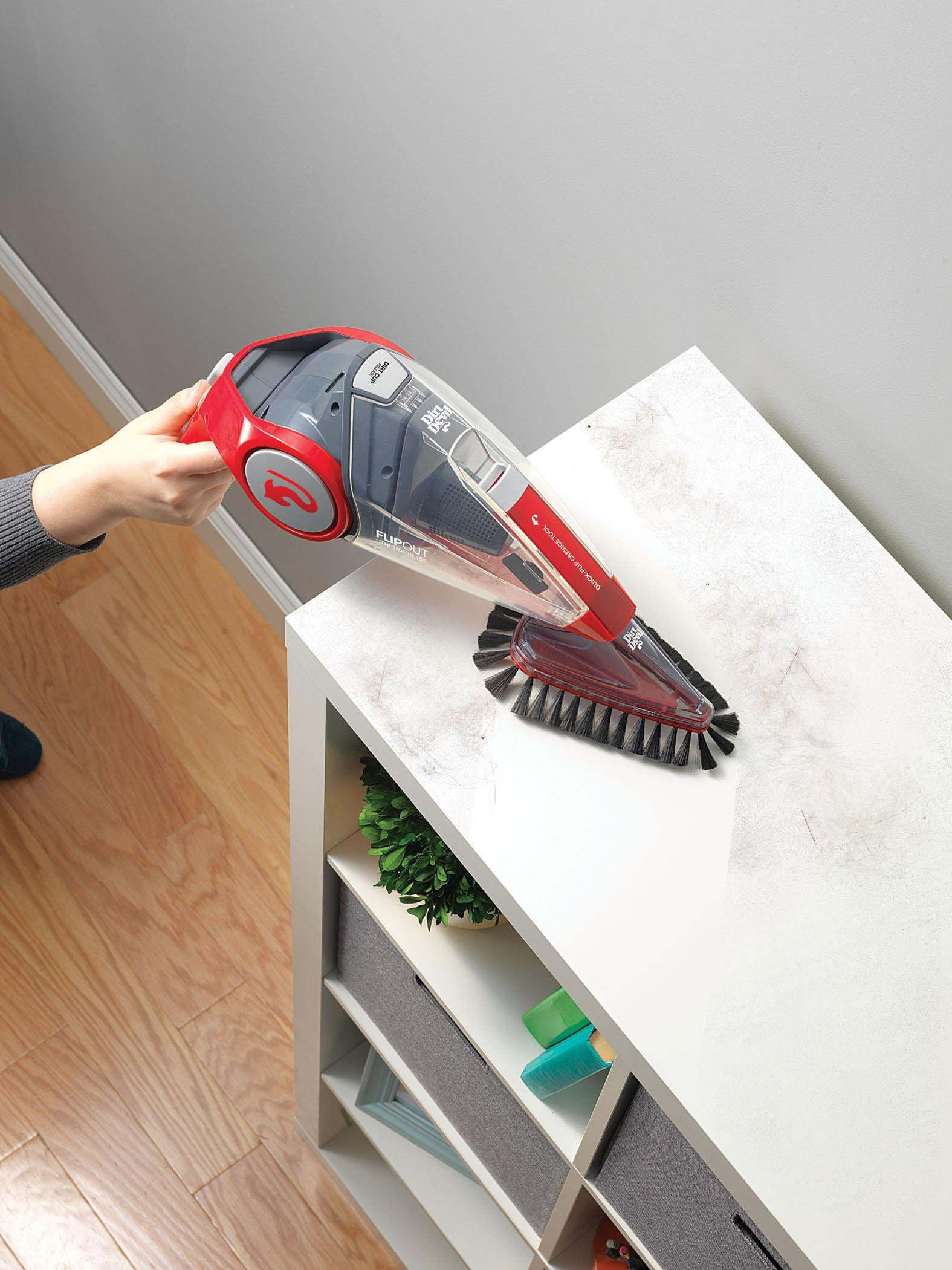 Flipout 16V Lithium Powered Cordless Hand Vacuum4