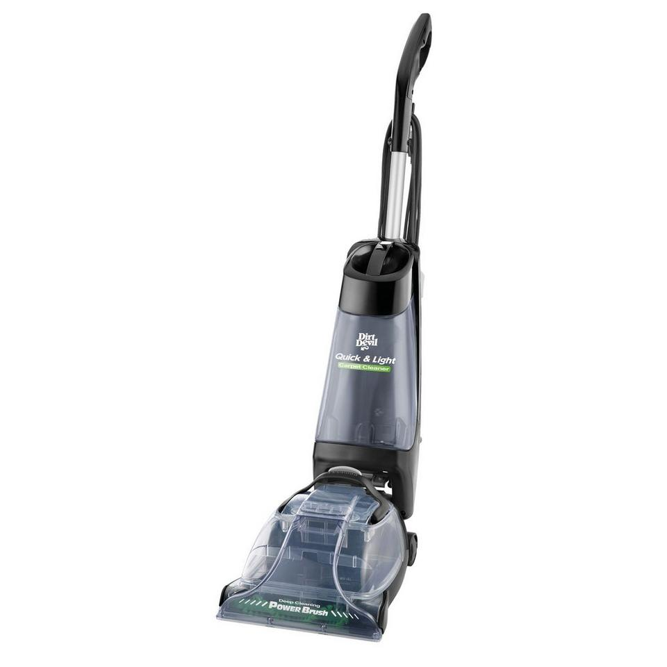 Quick Amp Light Carpet Washer With Power Brush Fd50010