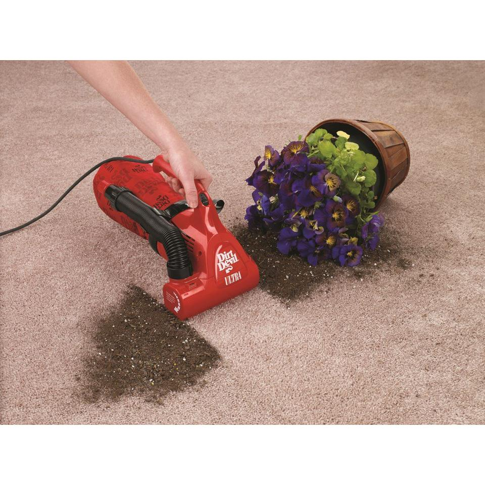 Ultra Corded Bagged Hand Vacuum - M08230RED