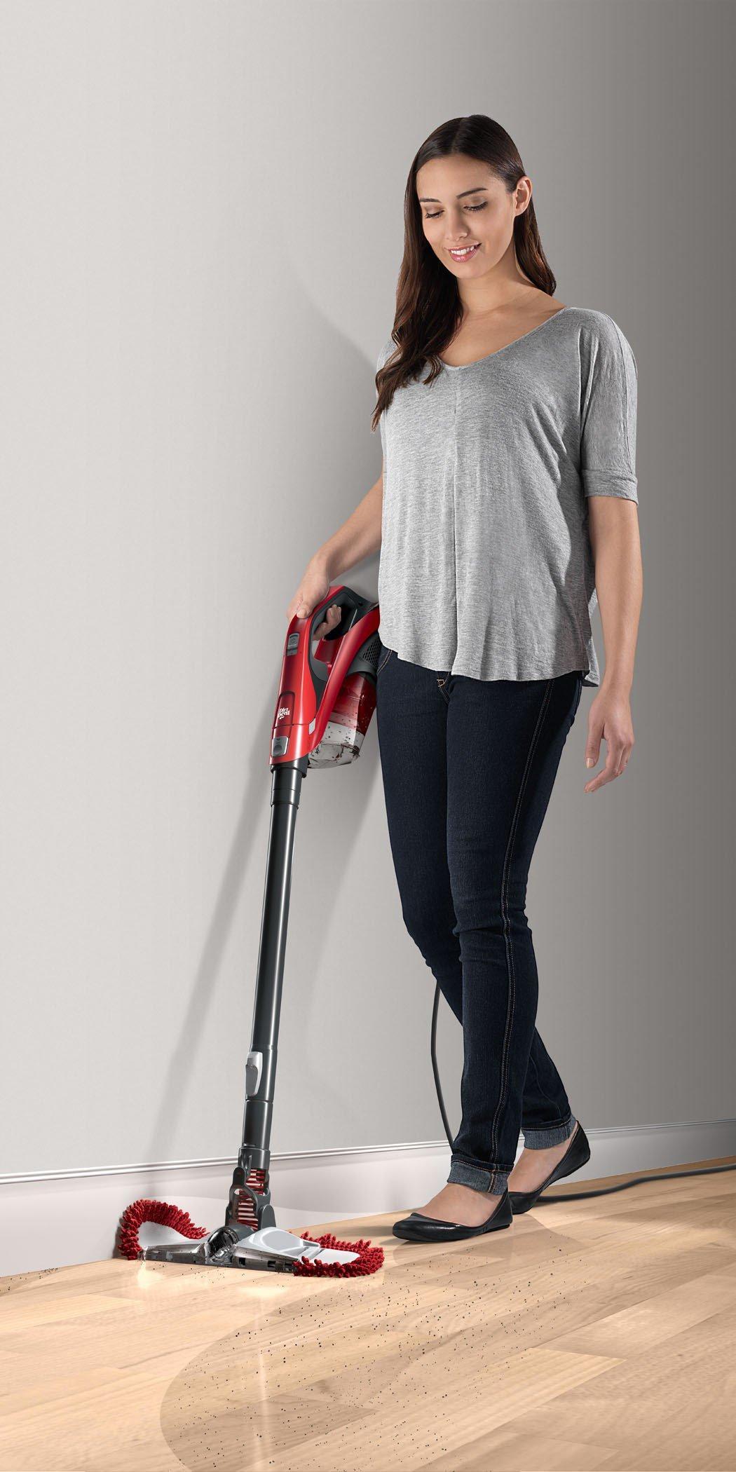360 Reach Pro Bagless Stick Vacuum Dirtdevil