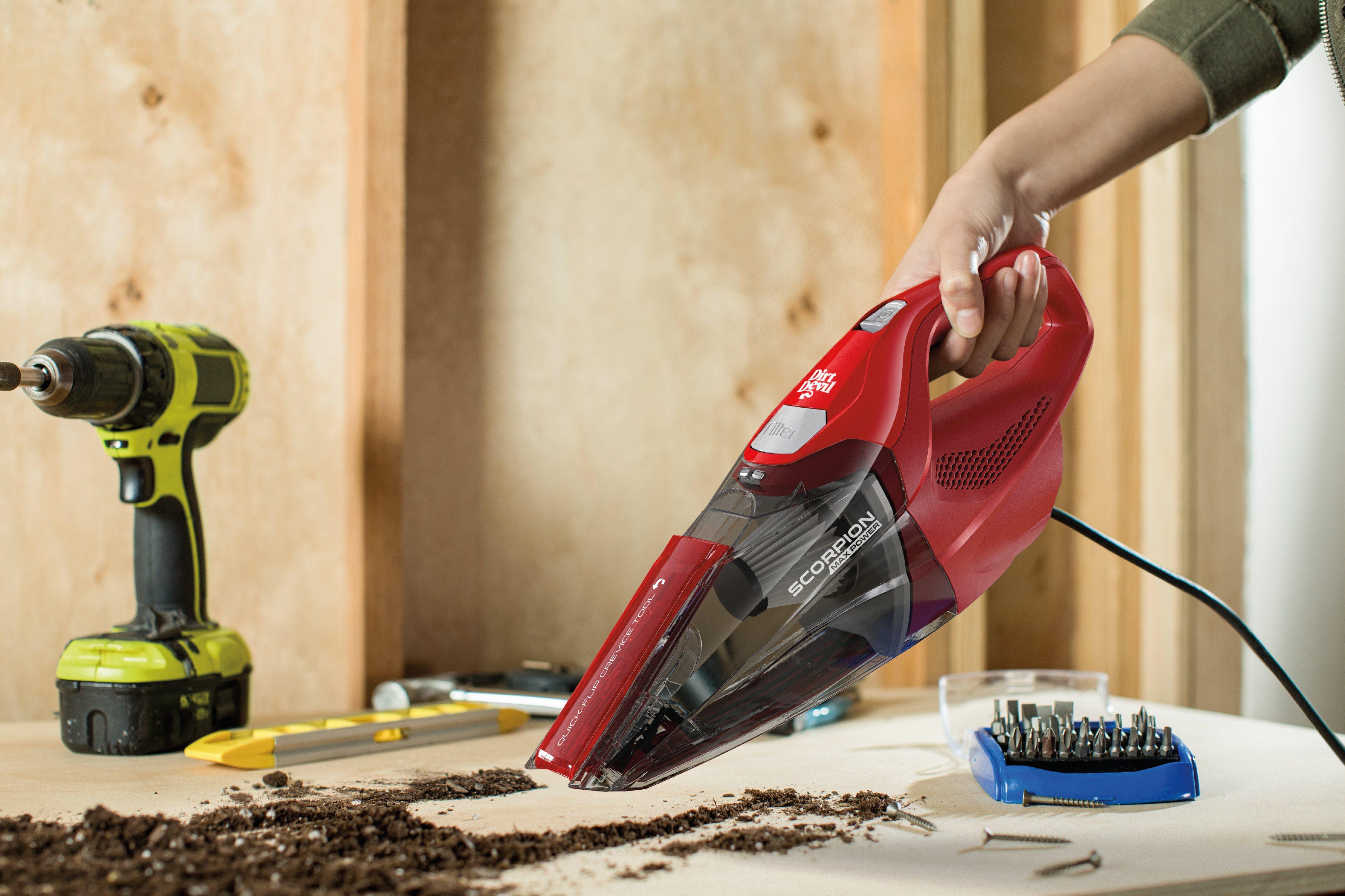 Scorpion Quick Flip Corded Hand Vacuum3