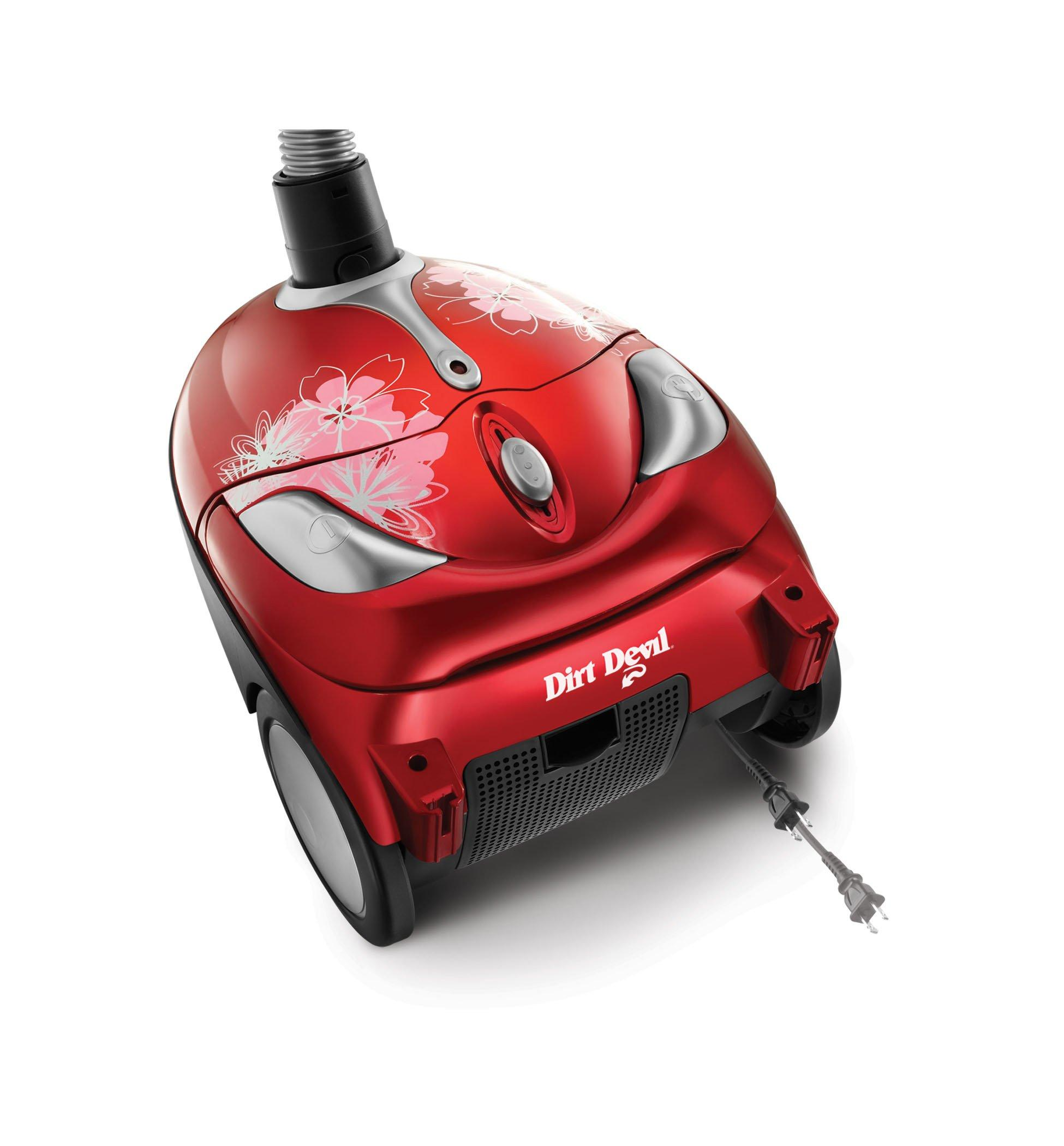 Tattoo Crimson Bouquet Bagged Canister Vacuum6