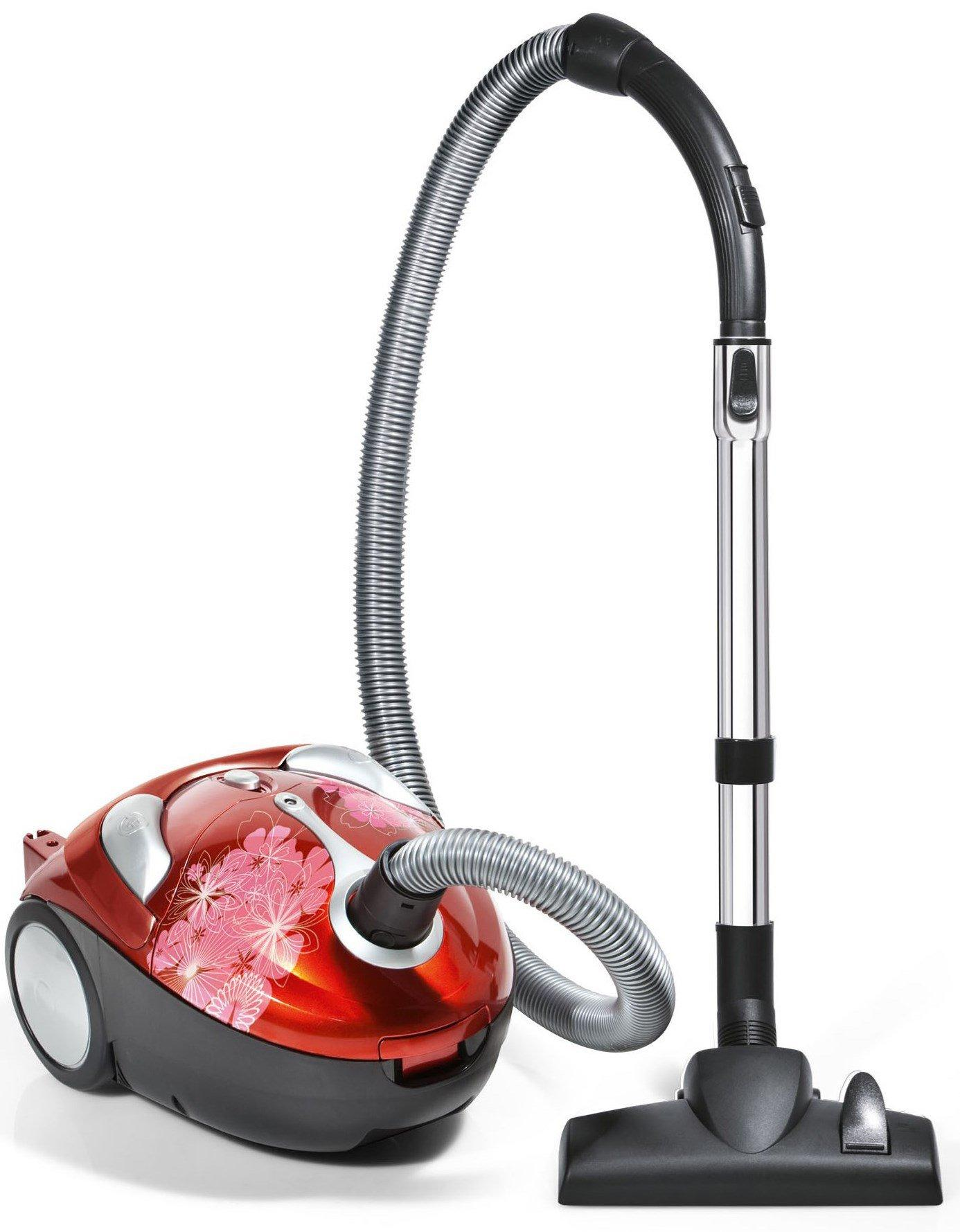 Tattoo Crimson Bouquet Bagged Canister Vacuum1