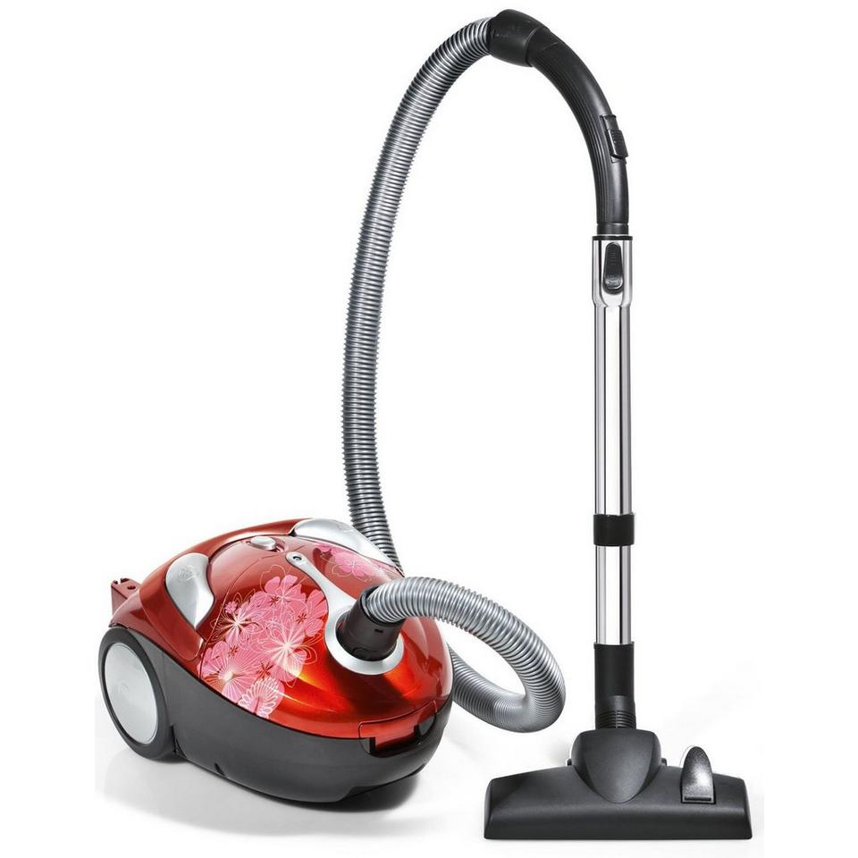 Tattoo Crimson Bouquet Bagged Canister Vacuum, , large