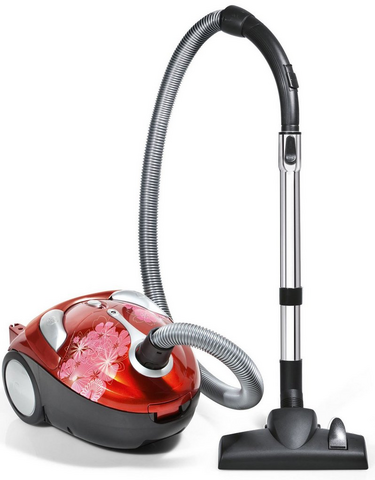 Tattoo Crimson Bouquet Bagged Canister Vacuum - SD30040BB