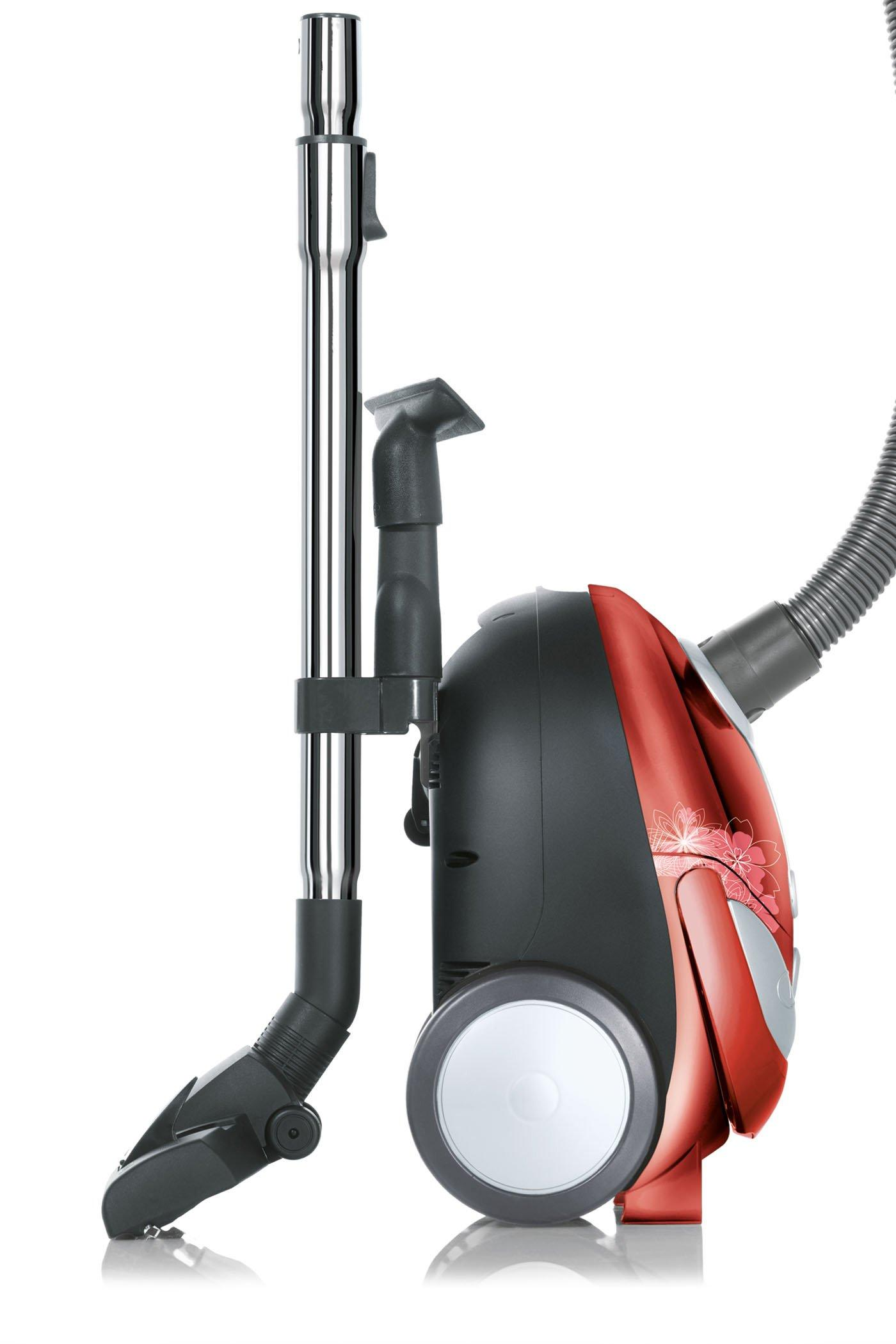 Tattoo Crimson Bouquet Bagged Canister Vacuum2