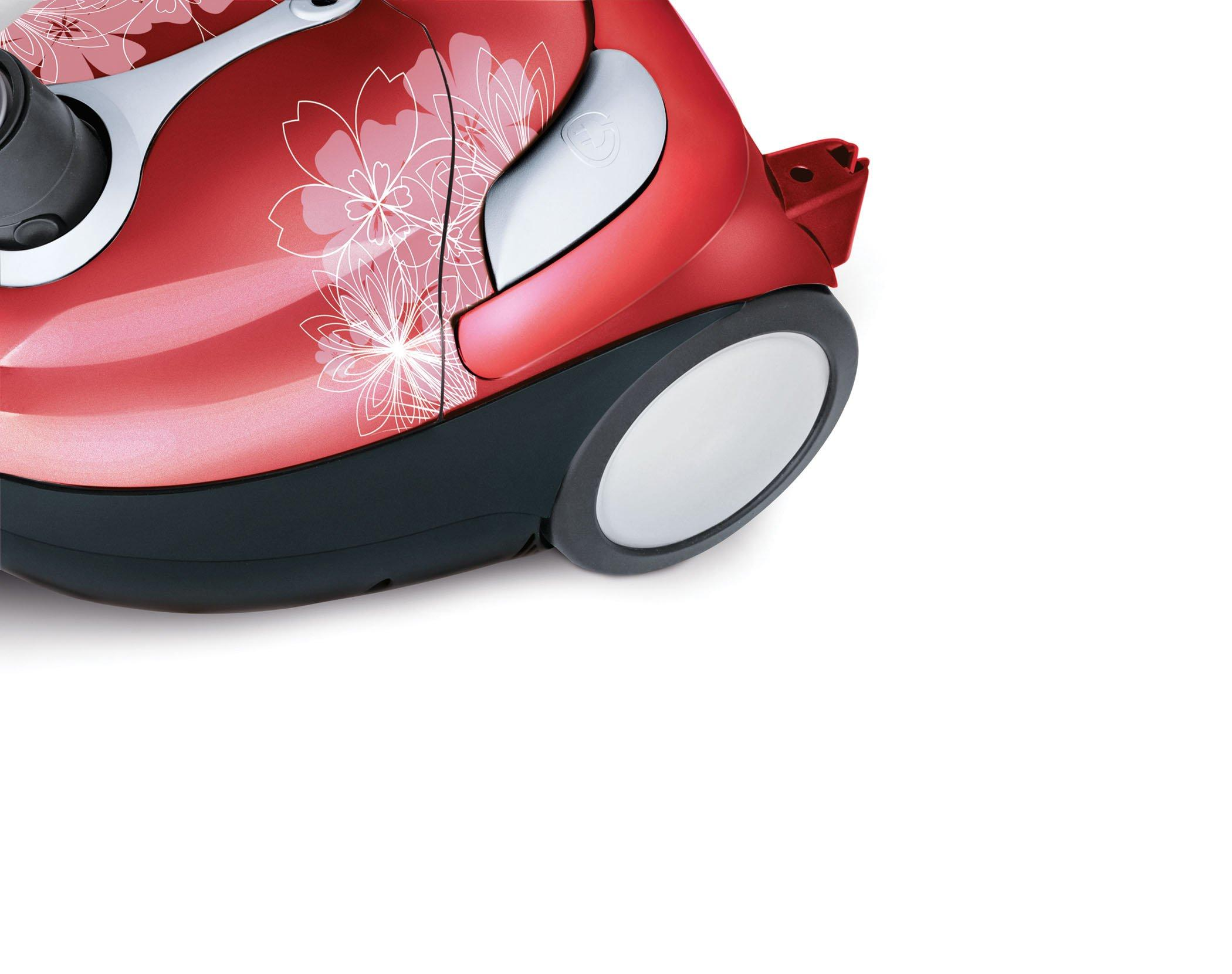 Tattoo Crimson Bouquet Bagged Canister Vacuum4