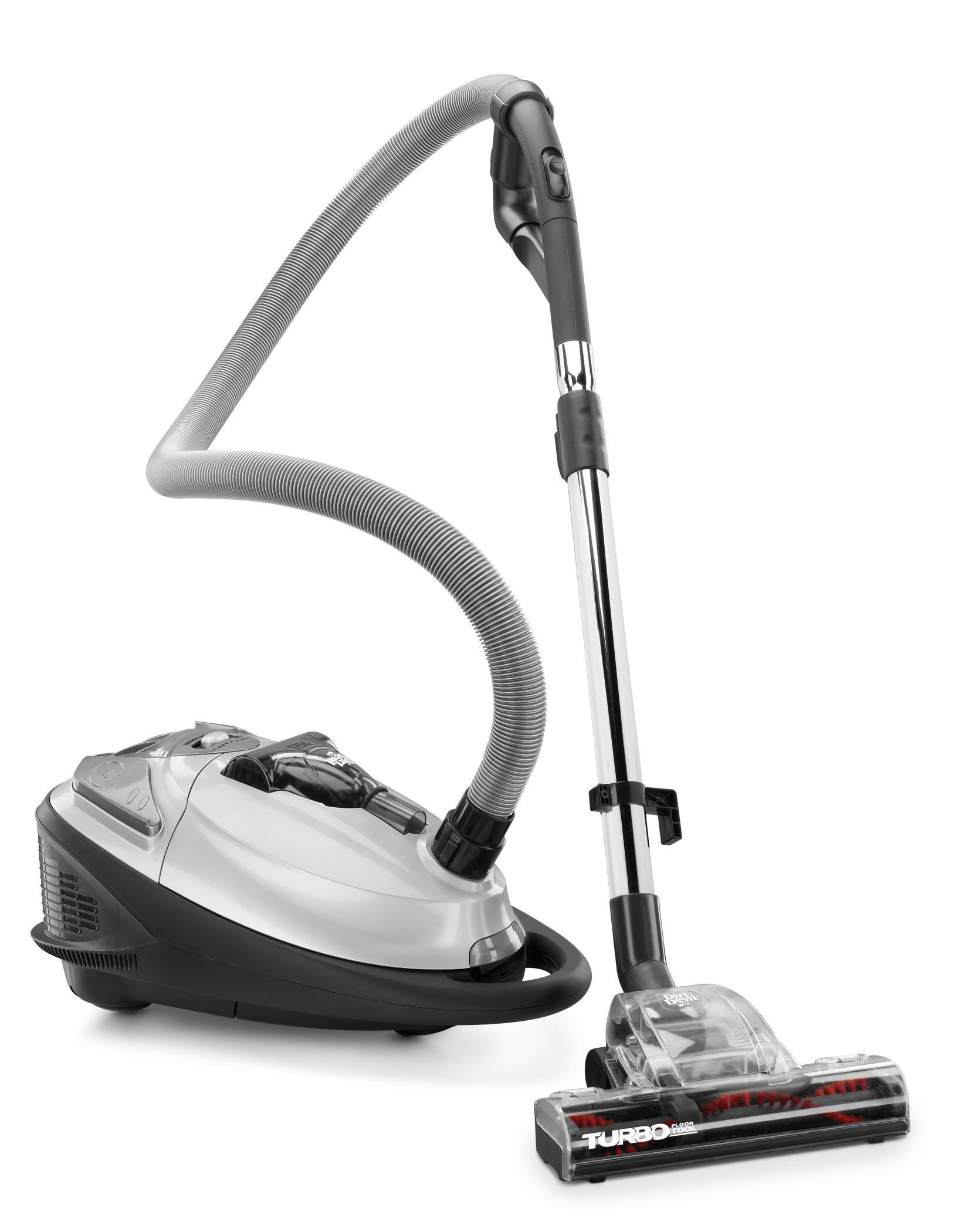 Turbo Plus Bagged Canister Vacuum1