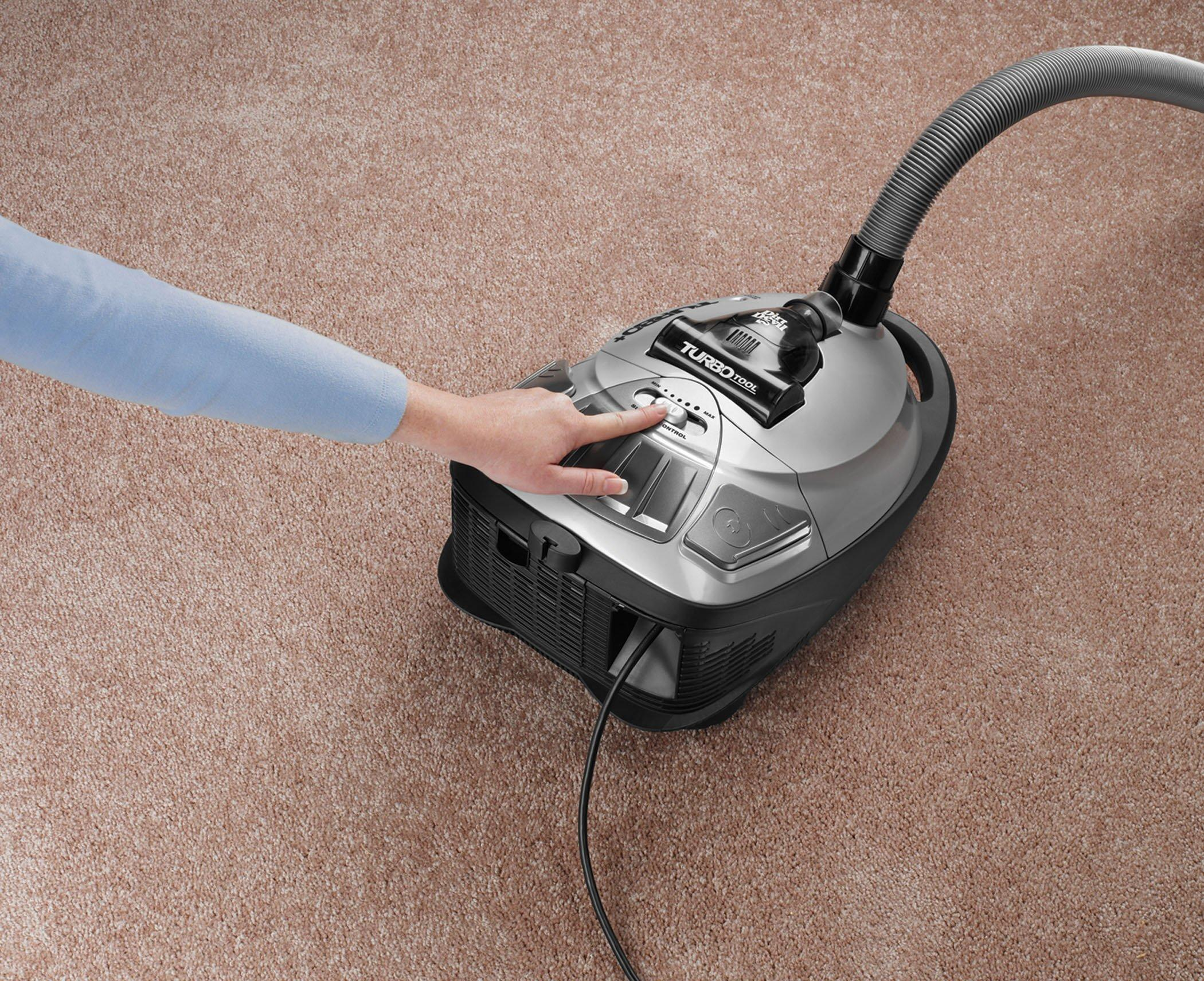 Turbo Plus Bagged Canister Vacuum3