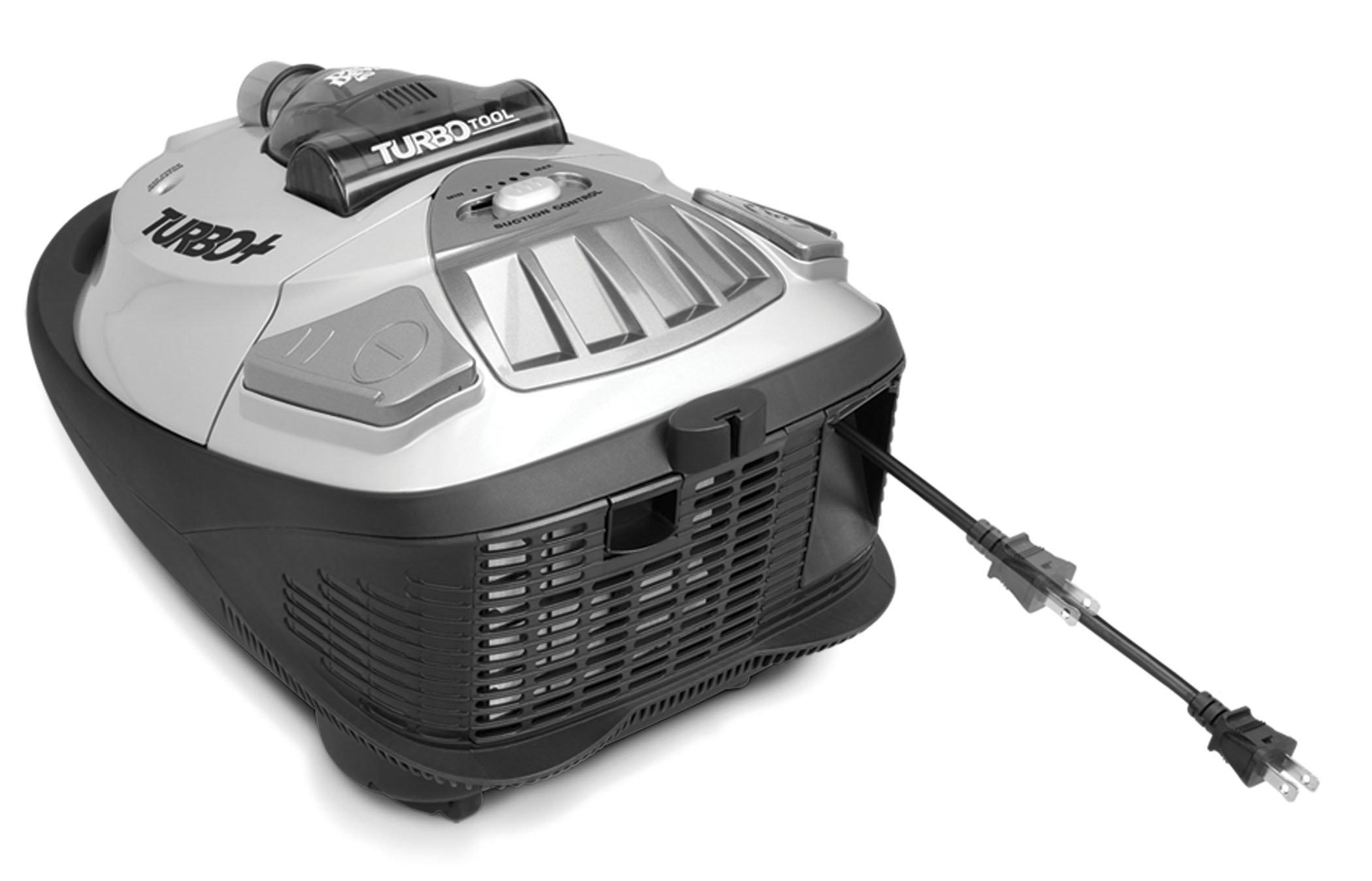 Turbo Plus Bagged Canister Vacuum4