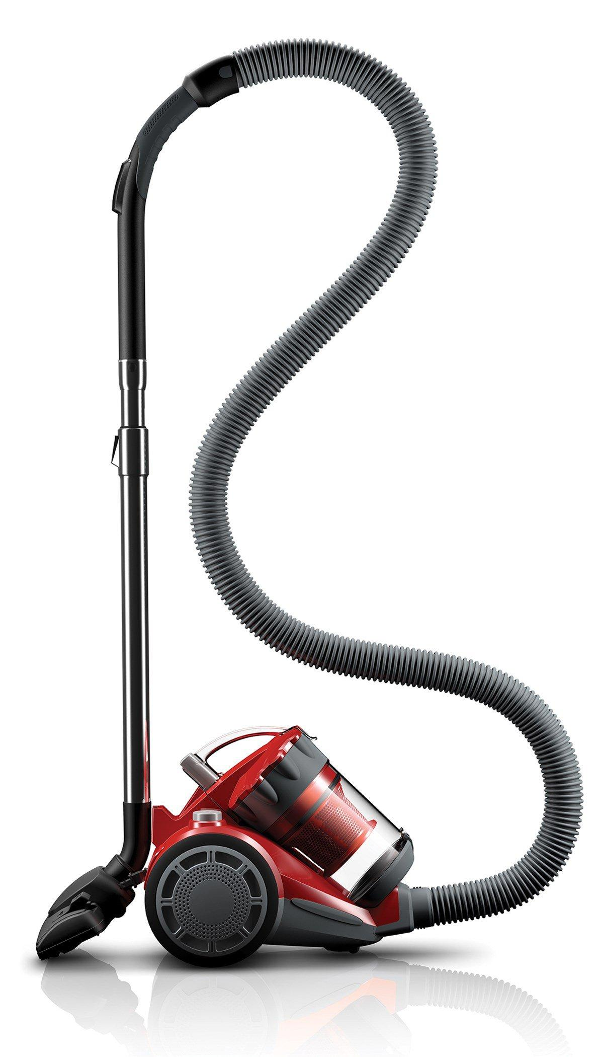 Featherlite Lightweight Cyclonic Canister Vacuum1